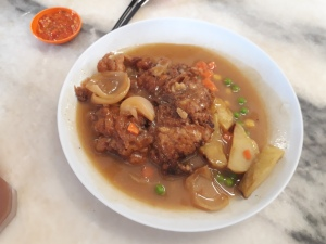 Hainanese Chicken Chops