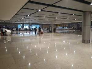 Changi Airport Arrival