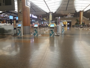 Changi Airport Check in