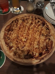 Duck Pizza at Switch by Timbre