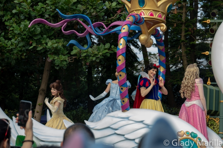 Disney Princesses Parade